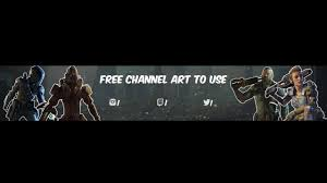 free call of duty channel art template photoshop gimp editing