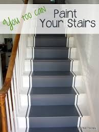Best Paint For Stair Banisters Painted Therapy Painting Your Stairs