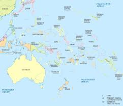 Map Colors File Oceania Administrative Divisions De Colored Svg