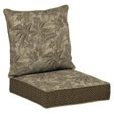 Plantation Patterns Seat Cushions by Solid Outdoor Chair Cushions Outdoor Cushions The Home Depot