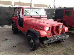 93 jeep wrangler sell used 93 jeep wrangler yj sport stock 2 5 4 cyl 4x4 5 speed