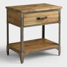 nightstands bedside tables vanity sets world market