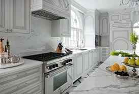 Two Tone Kitchen Cabinet Doors White Kitchen Cabinets With Gray Panel Doors Transitional Kitchen