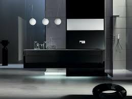 modern bathroom vanities as amusing interior for futuristic home modern bathroom vanities design in grey color made from wooden material completed with white pendant lighting