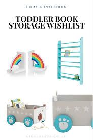 toddler book storage ideas nicola says