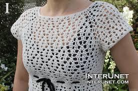 crochet blouses crochet a blouse interunet
