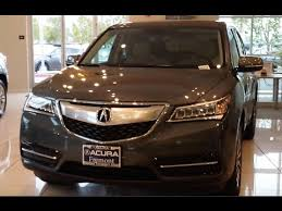 video tour of the 2015 acura mdx in forest mist metallic youtube