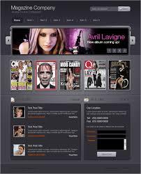 design magazine site designing cool interface for magazine portal 10steps sg