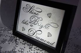 shine bright like a diamond sparkle word art pictures quotes