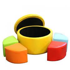 ottoman yellow leather storage ottoman yellow square storage