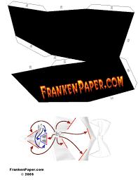 halloween mask cutouts dracula the vampire halloween mask from frankenpaper com