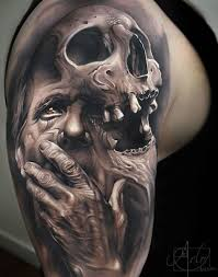 35 grim reaper tattoos with meaning