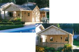 cedar echo family woodcraft outdoor shed images