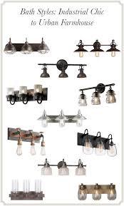 farmhouse bathroom lighting ideas manificent wonderful farmhouse bathroom lighting farmhouse style