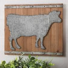 Cow Decor Cow Picture With Farmhouse Decor Decorate Like This