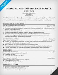 Resume Examples Administration by Pacs Administration Sample Resume Haadyaooverbayresort Com