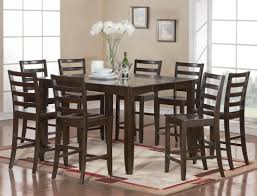 Dining Tables Amazing Piece Counter Height Dining Set Table And