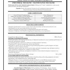 exles of resume cover letter maintenance resumer letter best industrial mechanic exles