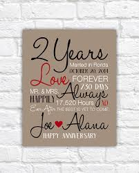 two year anniversary gift best second year wedding anniversary gift images styles ideas