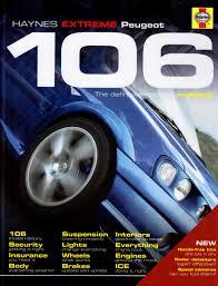 haynes extreme peugeot 106 amazon co uk bob jex 9781844257300