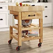 crosley marston butcher block natural kitchen cart from crosley marston butcher block natural kitchen cart from hayneedle com