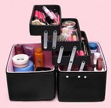 Makeup Box new 2017 cosmetic organizer makeup box large cosmetic bag