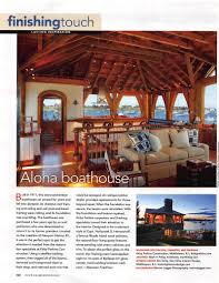 national publications have featured our timber frame work