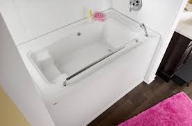 bathroom modern bathroom design with cozy american standard sink with storage and pink bathroom rug and american standard bathtubs also shower drain for modern