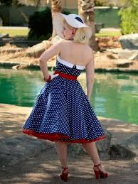 50s polka dot dress 1950s style swing dresses blue velvet vintage