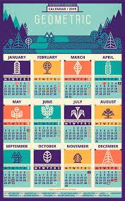 design wall calendar 2015 calendar 2015 geometric recolored by szende brassai adline