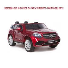 jeep mercedes mercedes gls 63 electric 24v ride on car two seater jeep with