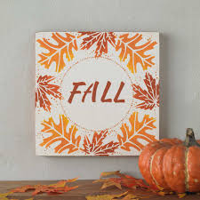 fall sign for home decor project plaid online