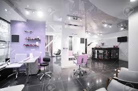 salon room brand new interior of european beauty salon stock photo picture