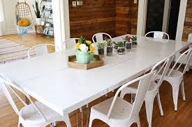 Tips For Painting A Dining Room Table  A Beautiful Mess - Painting a dining room table