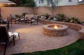 Raised Patio Pavers by New Design Backyard With Pavers Circulkar Raised Patio Pavers 29