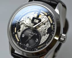louis erard 1931 gmt skeleton 94205aa02 with 1 year warranty