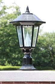 Madison Solar Lamp Post Planter by Lamp Post Light Fixture Outdoor Lighting Designs