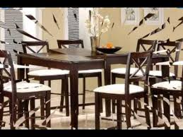 Butterfly Leaf Dining Room Table by Counter Height Dining Table With Butterfly Leaf Cappuccino Finish