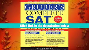 free download gruber s complete sat guide 2014 gary gruber full