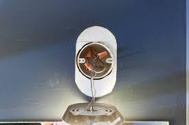 Russet Street Reno July - Bathroom vanity light no junction box