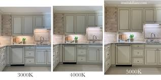 what is the best led cabinet lighting do you prefer warm cool or daylight lighting for your kitchen