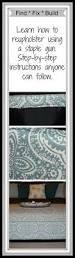 best 25 diy leather ottoman ideas on pinterest