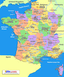 Map Of Paris France by Map Of South France Holiday Provence Pinterest France