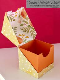 diagonal opening gift box video tutorial with stampin u0027 up
