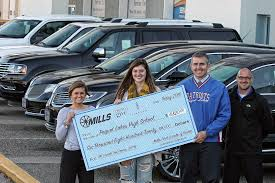 pequot car sales mills ford brainerd 32 740 raised for schools at fall mills