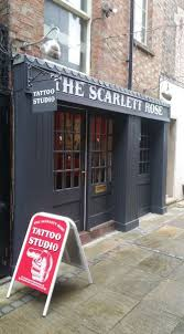 the scarlett rose tattoo studio tattooist in bedford uk
