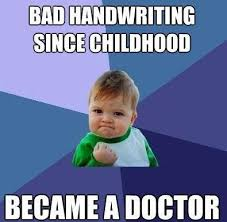 Doctor Meme - world doctors day funniest handwriting memes