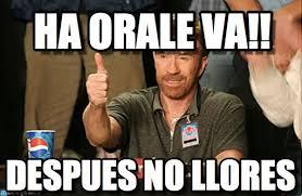 Va Memes - ha orale va chuck norris approves meme on memegen