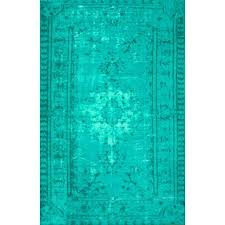 Turquoise Area Rug Modern Contemporary Turquoise Area Rug Allmodern