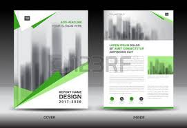 brochure template layout blue cover design annual report